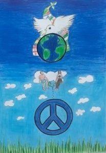 פוסטר השלום- ליונס כפר סבא